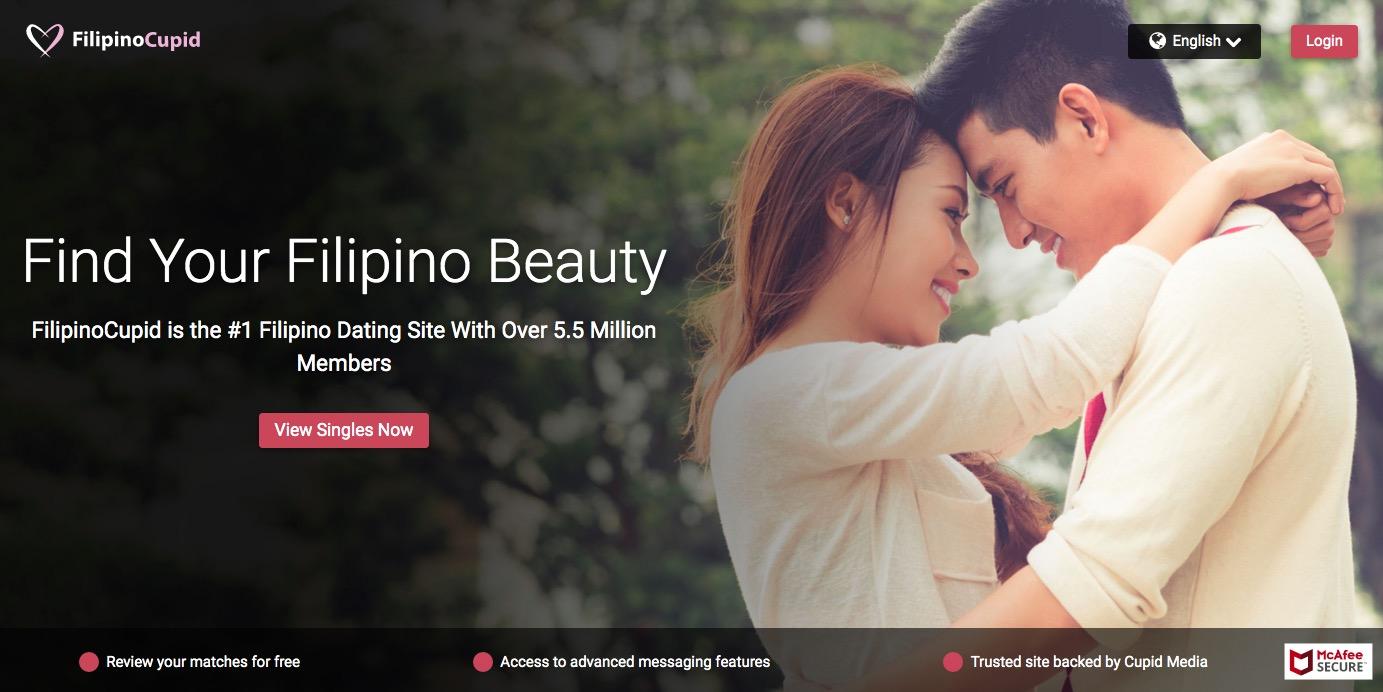 FilipinoCupid main page